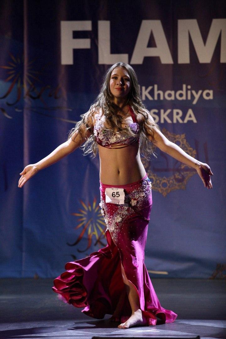 «Восточный танец» на XIV Всемирной ТАНЦЕВАЛЬНОЙ ОЛИМПИАДЕ-17