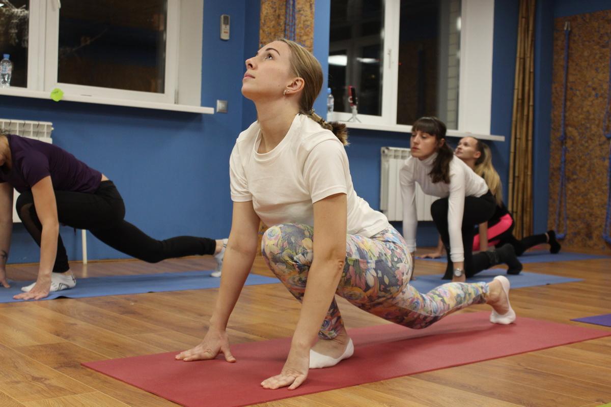 Боль в шее йога