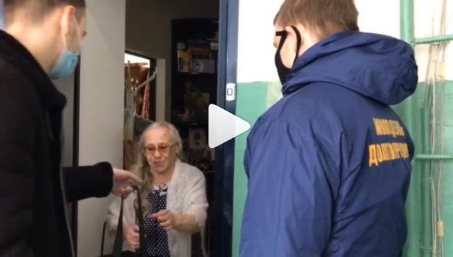 Видеосюжеты «Один день из жизни волонтера»